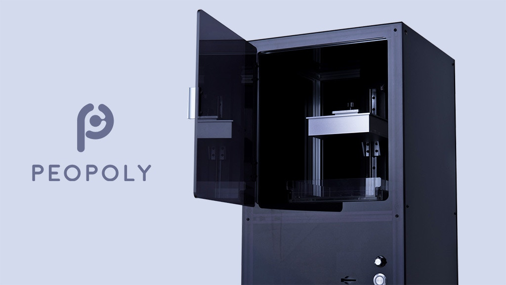Moai - Affordable High-Resolution Laser SLA 3D printer project video thumbnail