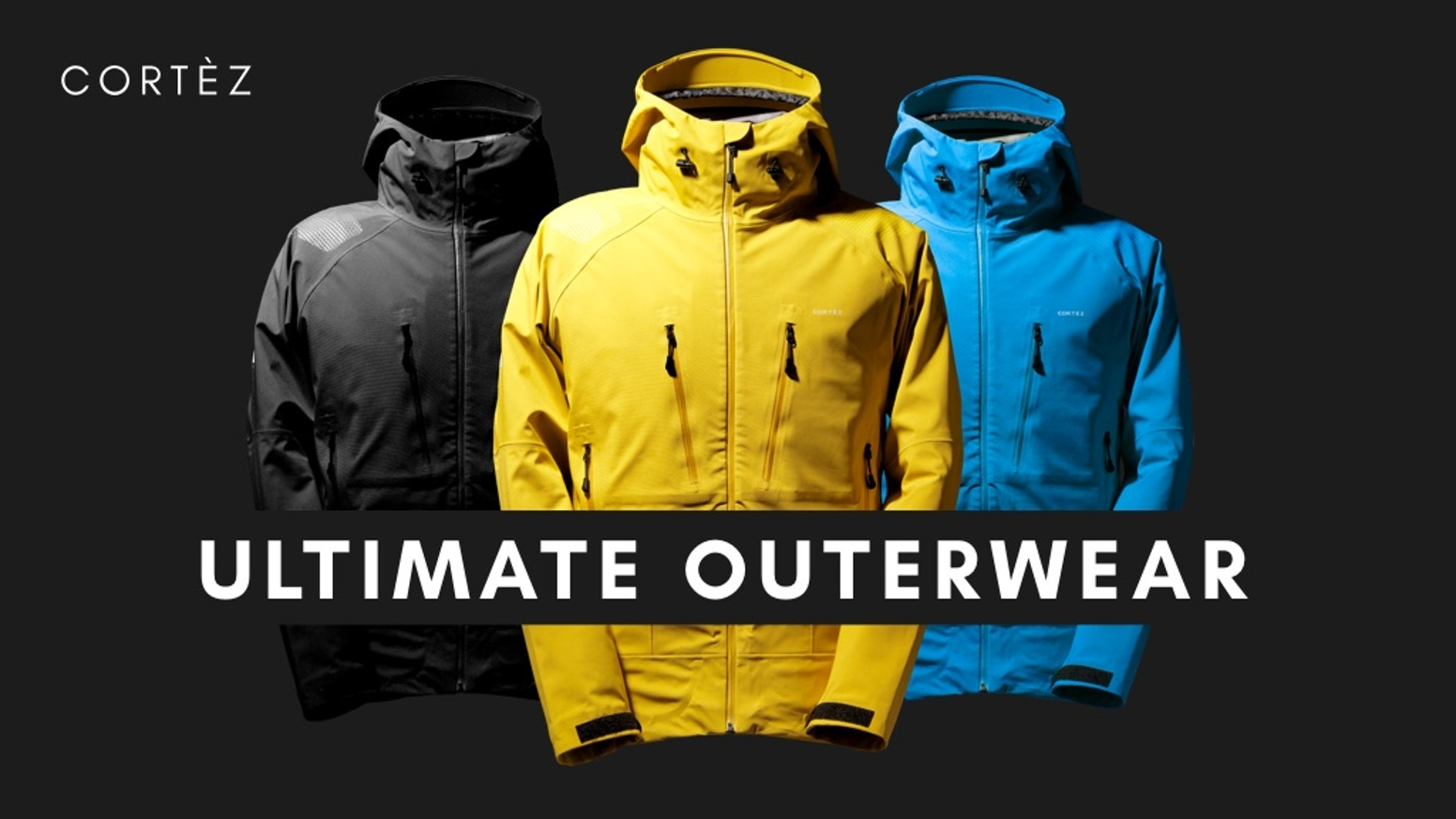 The Jacket for all your adventures. High-Quality materials - Outstanding  Design - Excellent