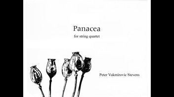 Panacea - Three string quartets - The new album