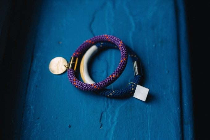 Easily attach to clothing, keys, jewelry, and more!