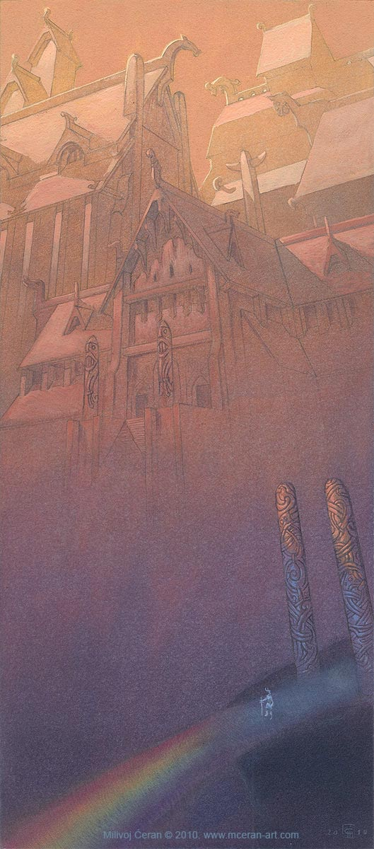 Heimdall in Asgard