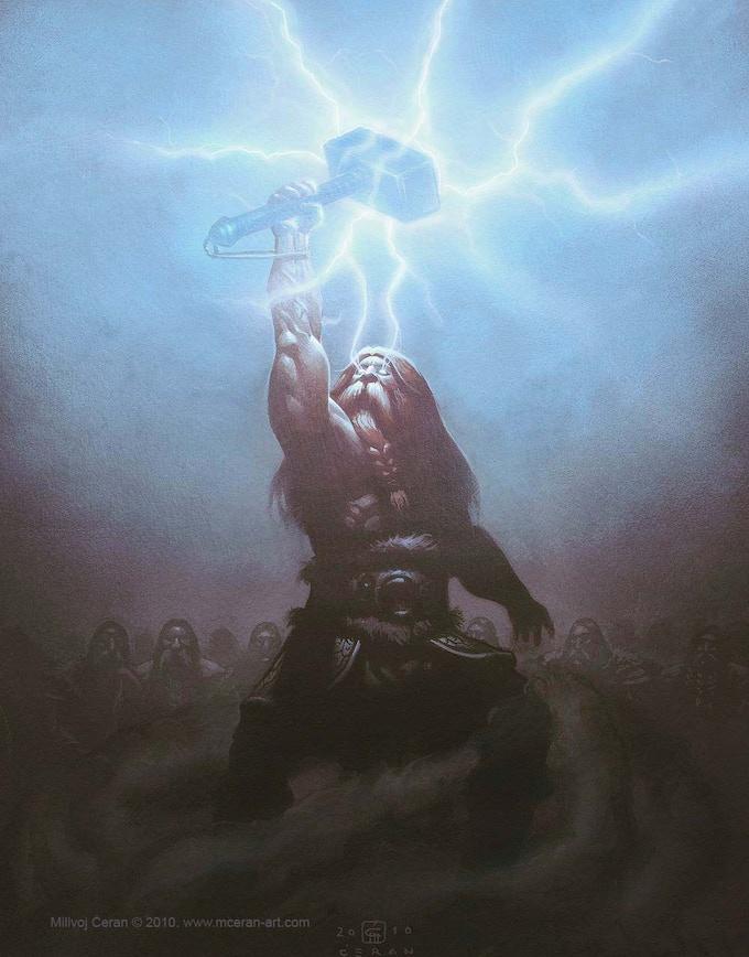 Thor gets Mjollnir