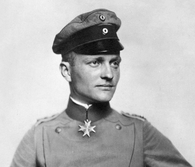 Manfred von Richthofen, known today as the Red Baron