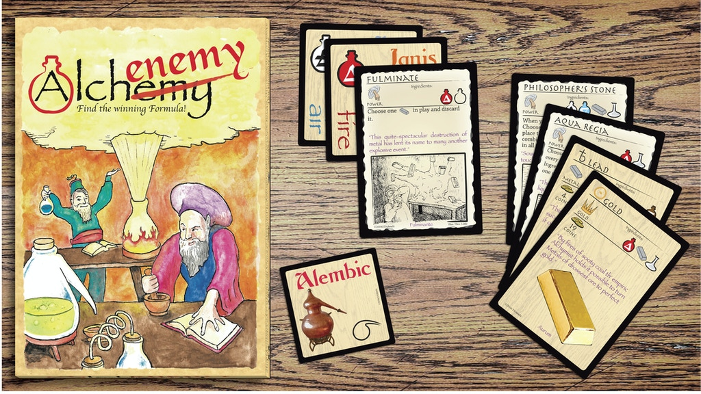 Alchenemy - A card game of turning lead into gold project video thumbnail