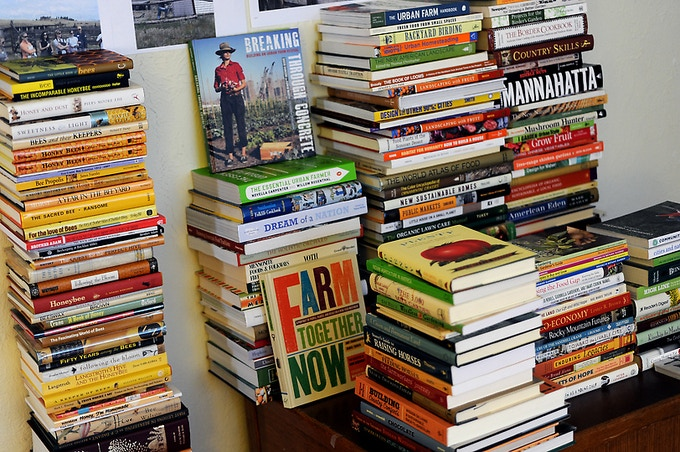 Help give these books a home at Buffalo Peaks Ranch!
