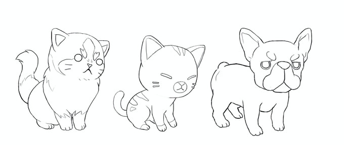 At $70,000 We'll add a range of adorable pet parts and to the character creator!