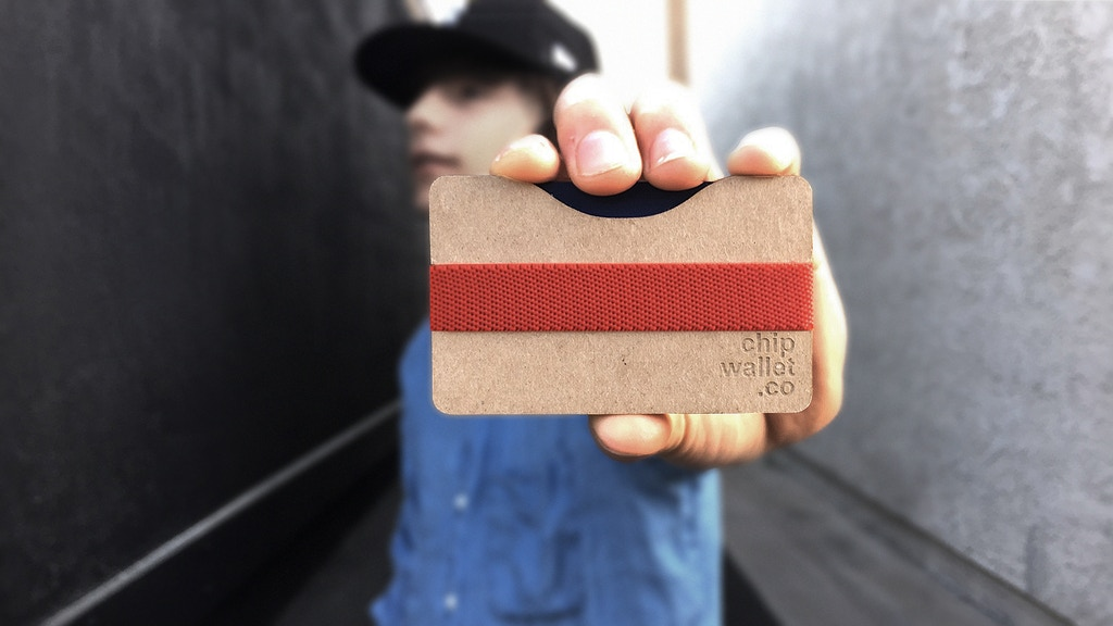 Chipwallet - The DIY Cardboard Wallet: Slim & Eco Friendly project video thumbnail
