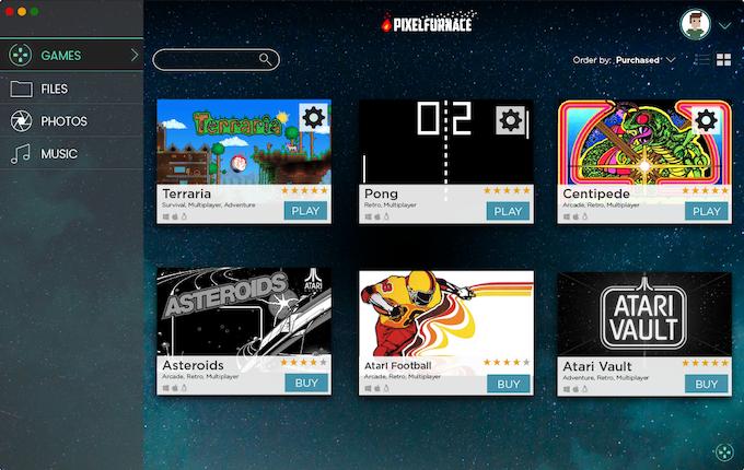 PixelFurnace, Gameband's proprietary management and launch platform