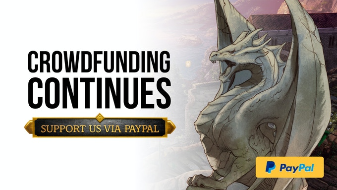 Support us on PayPal!