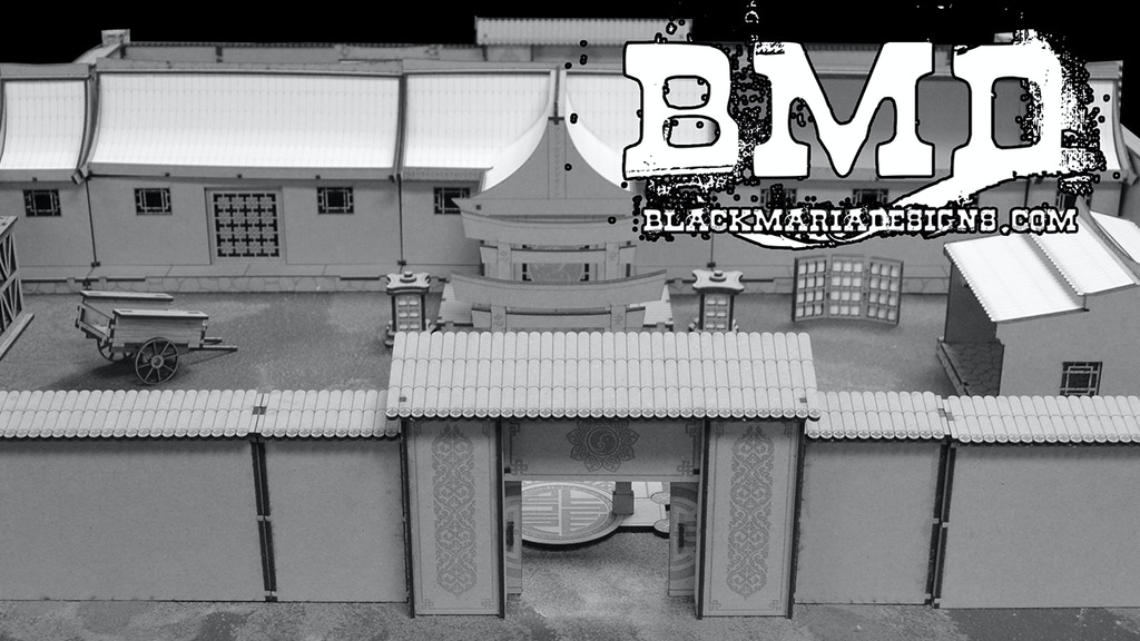 Project image for Black Maria Designs: Asian Inspired Terrain