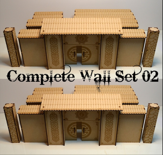 Wall Complete Set 02