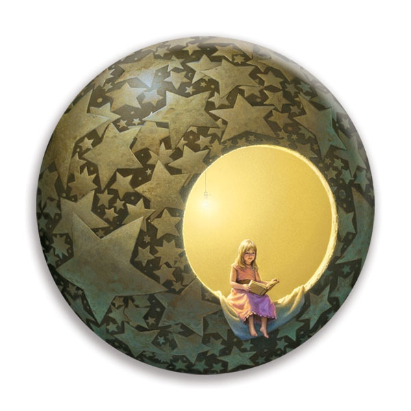 "Complete Your BackerKit Survey by Friday, March 3, 2017 and receive a bonus 1.25"" Michael Whelan sphere button with your reward items."