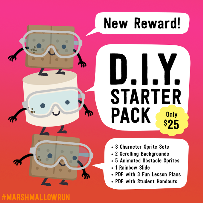 Marshmallow DIY Starter Pack #1: Join the fun and code your own level!