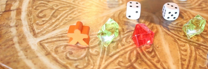 Robotanists deployed directly into the Garden will gain favor based on the number of gems in their sector. (Prototype components shown)