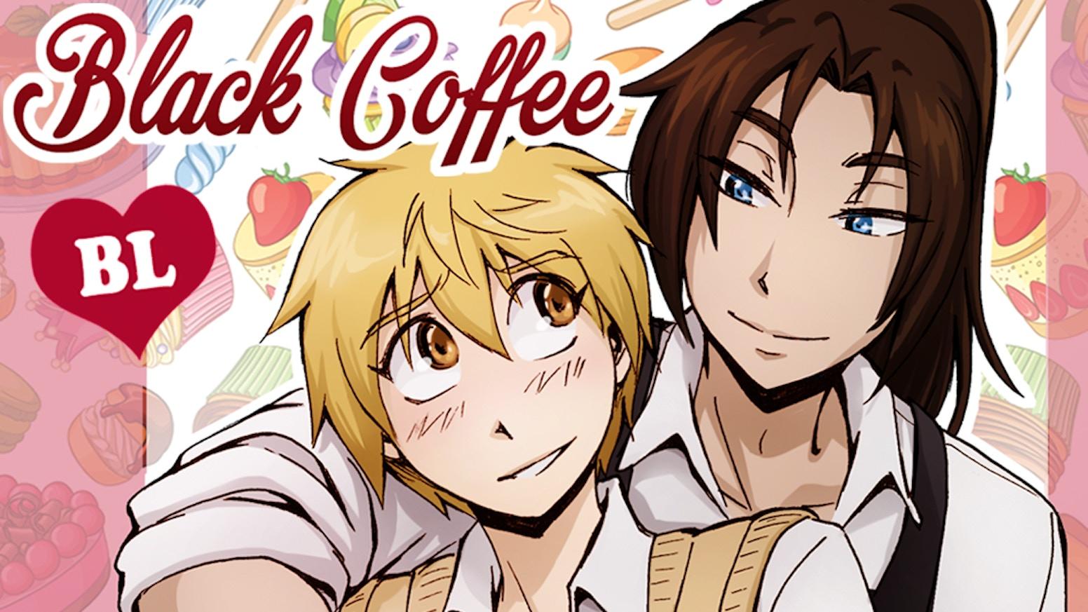 Bl Manga Publication Black Coffee Yaoi Shounen Ai Comic By Sparkly Comics Kickstarter