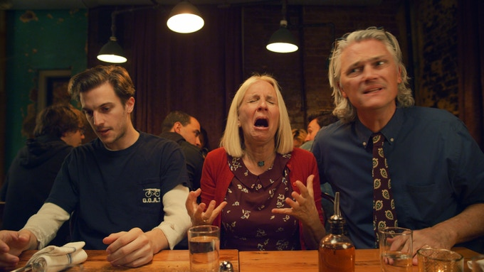Peter Vack, Jane Brown, and Ron Brown in Assholes