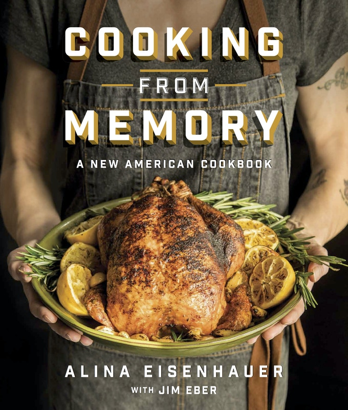 The Cooking from Memory cover - in hardcover!