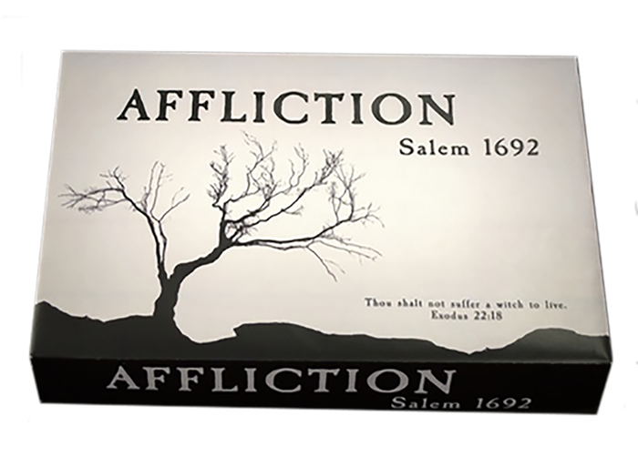 Accuse your rivals of witchcraft, damage their reputations, and make them easier to arrest. Can you survive fear and paranoia in Salem?