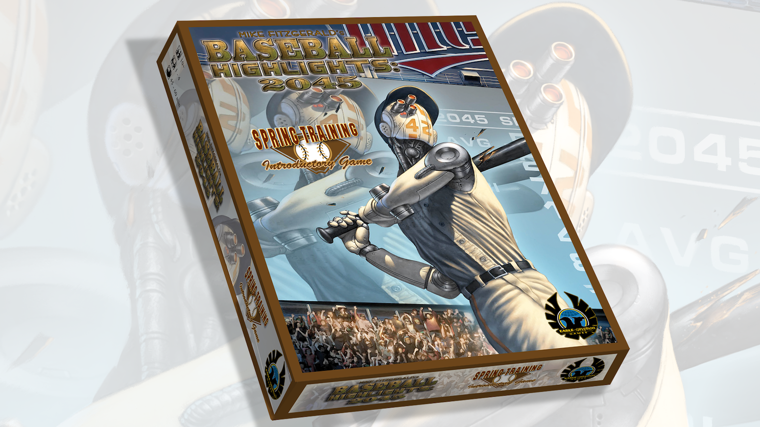 2-Player introductory version of the award-winning Baseball Highlights 2045! Get into the game! New BH2045 Expansions. also available.