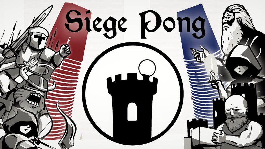 SIEGE PONG: The Party Game for Gamers project video thumbnail