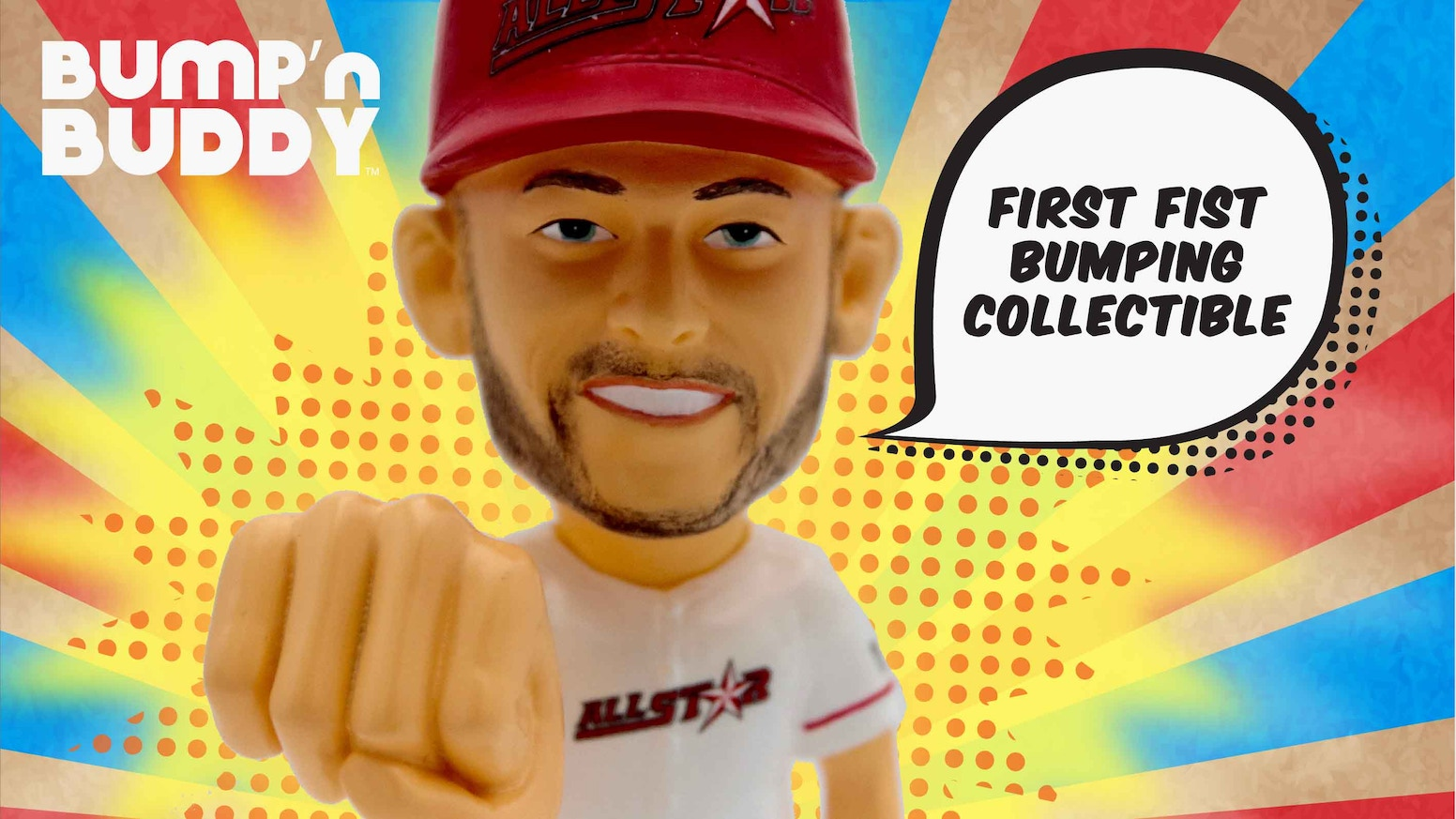 Order Your Very Own Bump'n Buddy Today! Be the envy of all your friends by purchasing the fist, er, FIRST BUMP'N BUDDY Called Joe Bumpy! Only $20 and FREE Shipping! Click below!