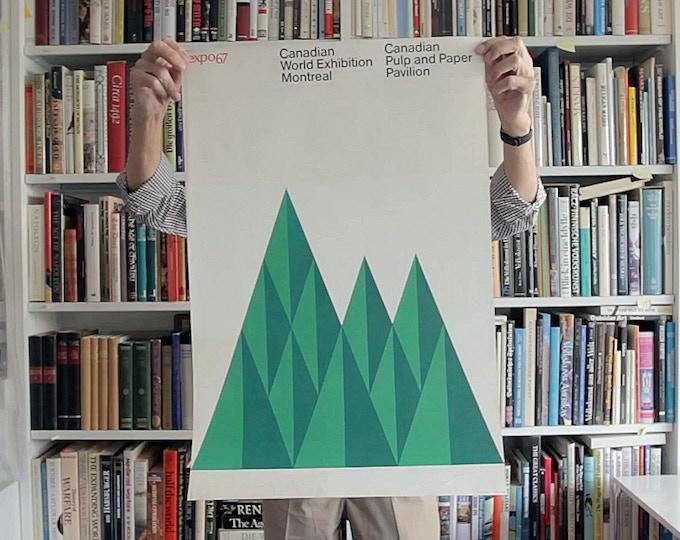 Ernst Roch. Expo67 - Poster Reissue