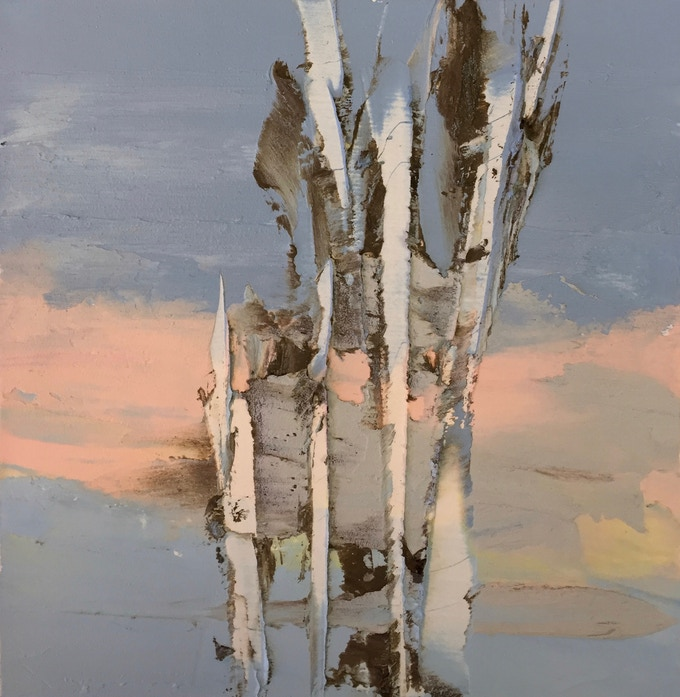 River Diary, 11,12,16, River, sunrise, trees