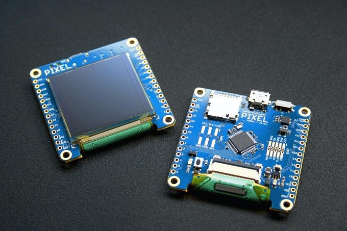 Pixel the arduino compatible smart display by rabid