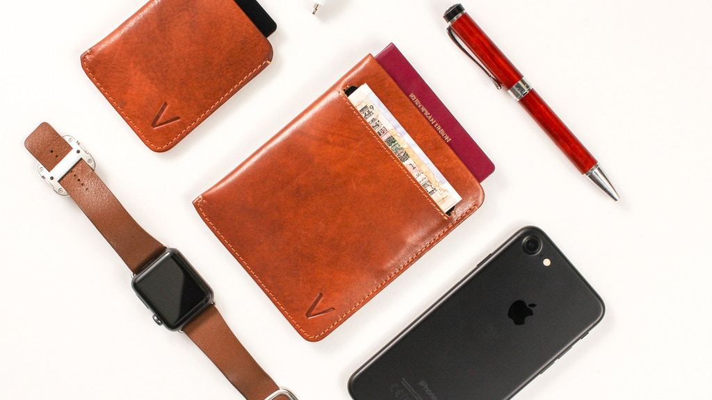Vinco Fly ✈ Smart Trackable RFID Travel Wallet project video thumbnail