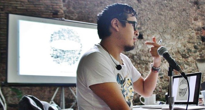 Augusto Mora, one of Mexico's most acclaimed young comic book authors, teaches graphic design for social movements.