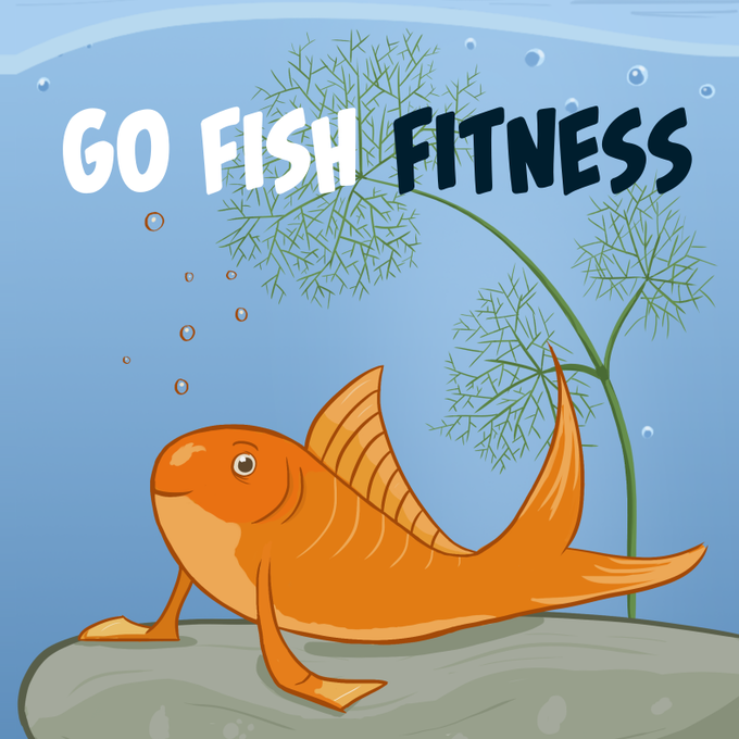 Go fish fitness by tricorn games kickstarter for Play go fish