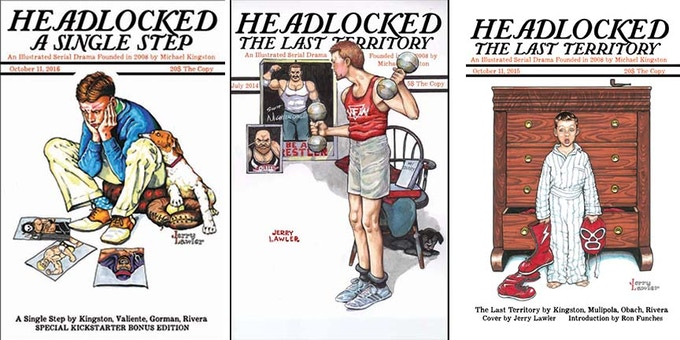 """Stunning Norman Rockwell homage covers by Jerry """"The King"""" Lawler!"""