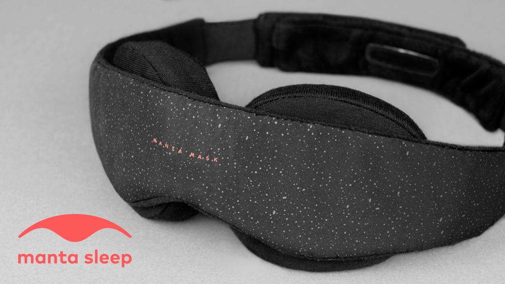 Manta Sleep Mask - World's 1st Modular Eye Mask for Sleeping project video thumbnail