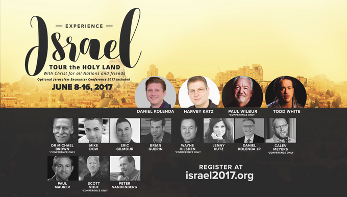 "Every person included on the ""Experience Israel Tour"""