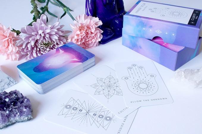 Clarity Edition - 50 Cards, Guidebook + Rigid Box