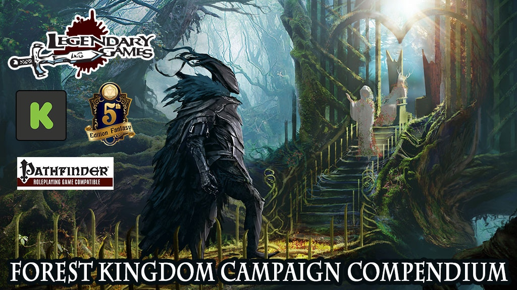 Forest Kingdom Campaign Compendium for Pathfinder and 5E project video thumbnail