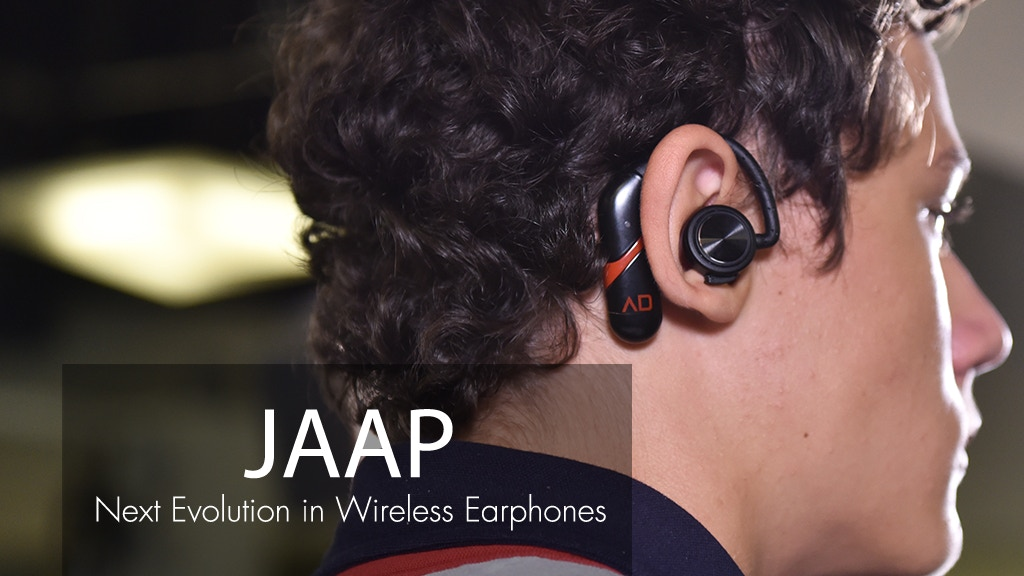 JAAP: Next Evolution in truly wireless earphones project video thumbnail