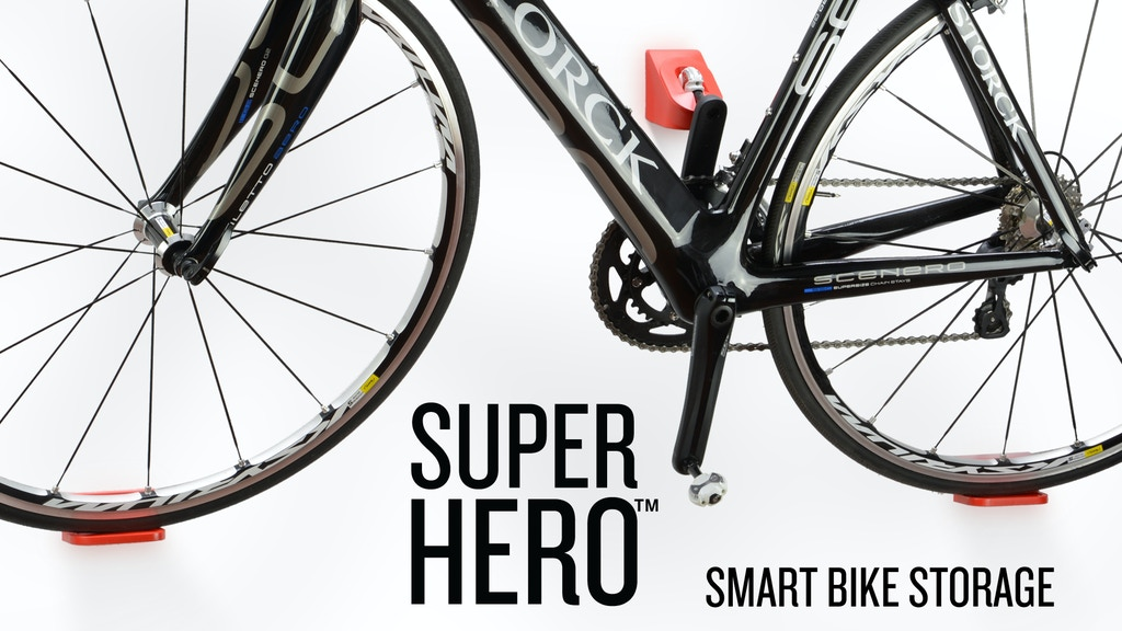 SUPER HERO - the ultimate bike display and storage rack project video thumbnail