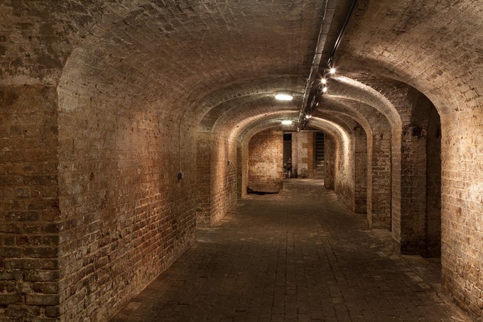 The Crypt Gallery, St Pancras