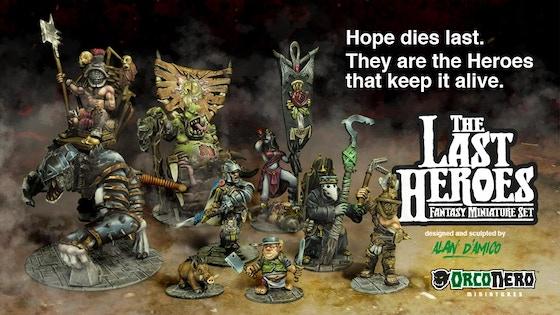 The Last Heroes: Fantasy Miniature Set