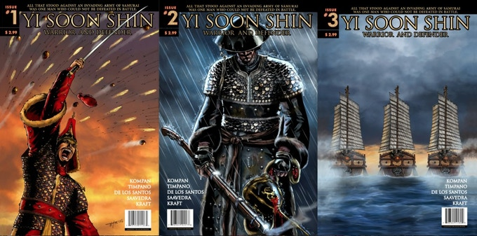 Once you read the first three issues--you'll be hooked!