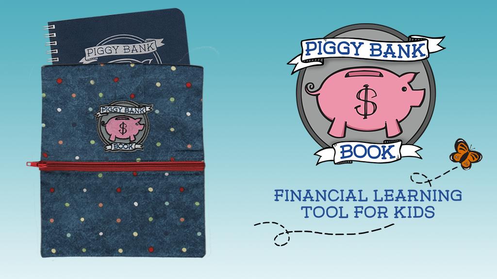 Piggy Bank Book: Teach kids how to be money savvy grown-ups! project video thumbnail