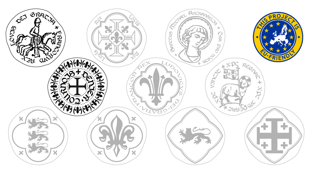 Project image for Historical medieval metal coin for your games
