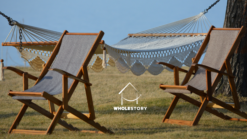 WholeStory: World's Comfiest Hammocks & Lounge Chairs project video thumbnail