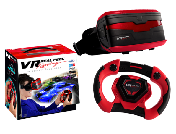 Everything you get with our product - free app, VR headset, and Bluetooth controller