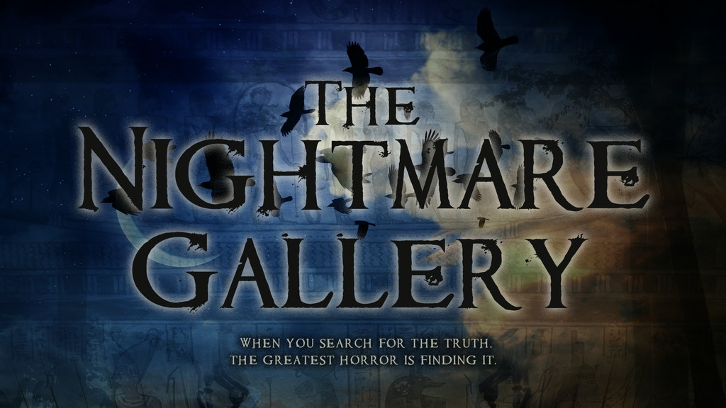 THE NIGHTMARE GALLERY - Horror Film Starring Amber Benson project video thumbnail