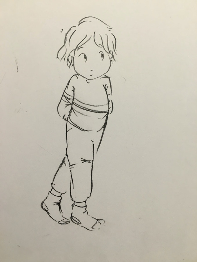Initial character sketch