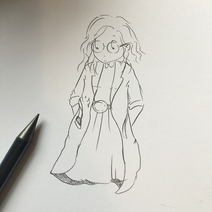 Super Doc – early sketch