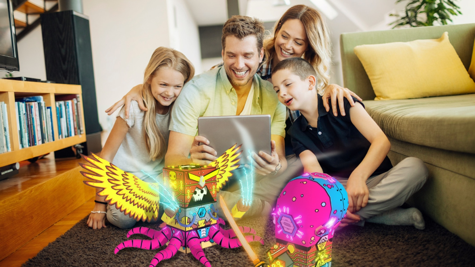 Bring these collectible toys to life with your phone or tablet and experience a NEW way to play, learn and create. Get yours Today!