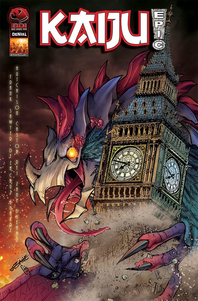 CB Zane Kaiju Epic! Cover